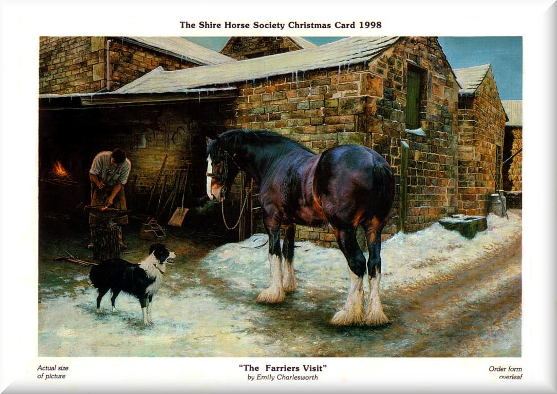 Preservation of the Shire Horse through breeding, stand and Shire Horse sale since 1990