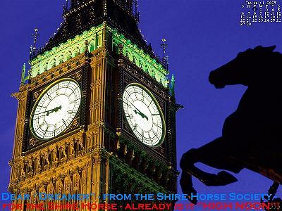 Herzlich Willkommen auf dem Tinker Pony & Shire Horse Hof - Herkunft, Schicksal und Untergang der SHIRE HORSE