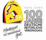 15. Januar 2005 - 100 Jahre FN - website der Deutschen Reiterlichen Vereinigung, Dachverband der 26 deutschen Pferdezuchtverb�nde- FN