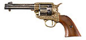 "Colt ""Single Action Army"" Stück 99,95 Euro. Länge: 26 cm, Gewicht: 890 g."